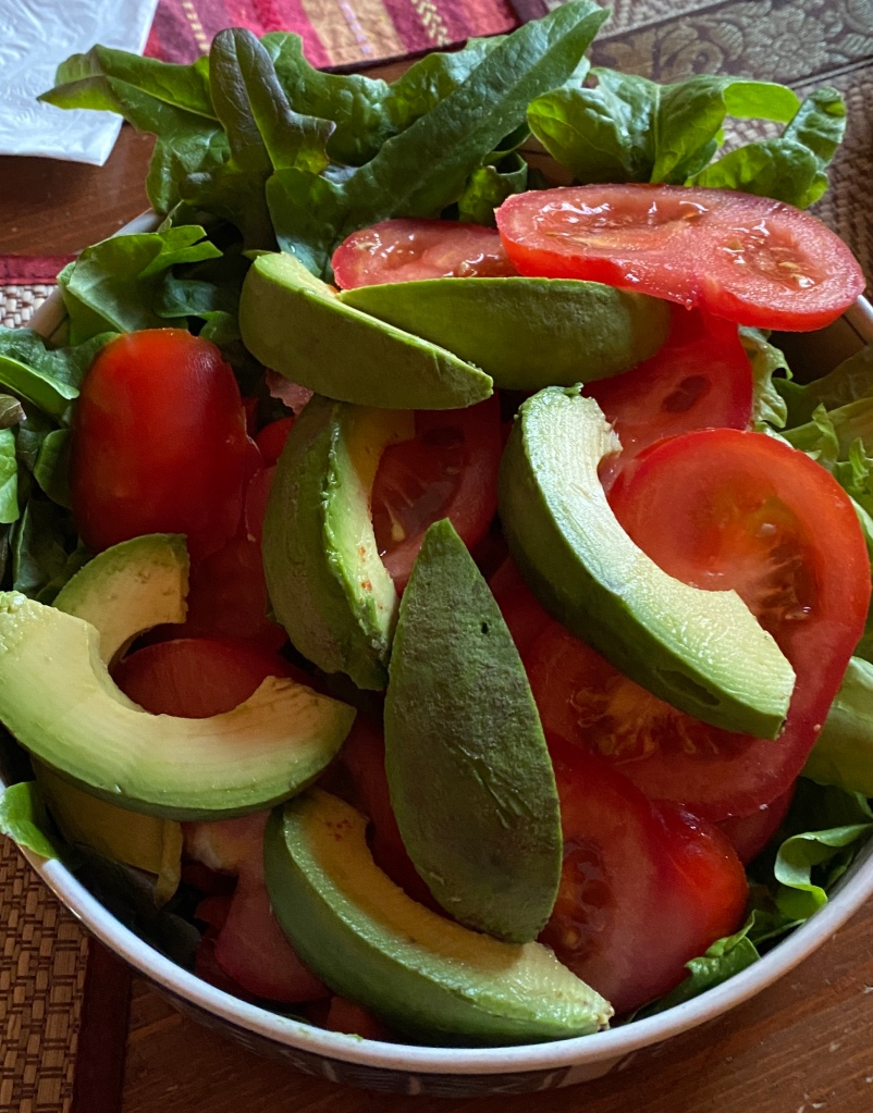 Salad With Homegrown Bistro Lettuce