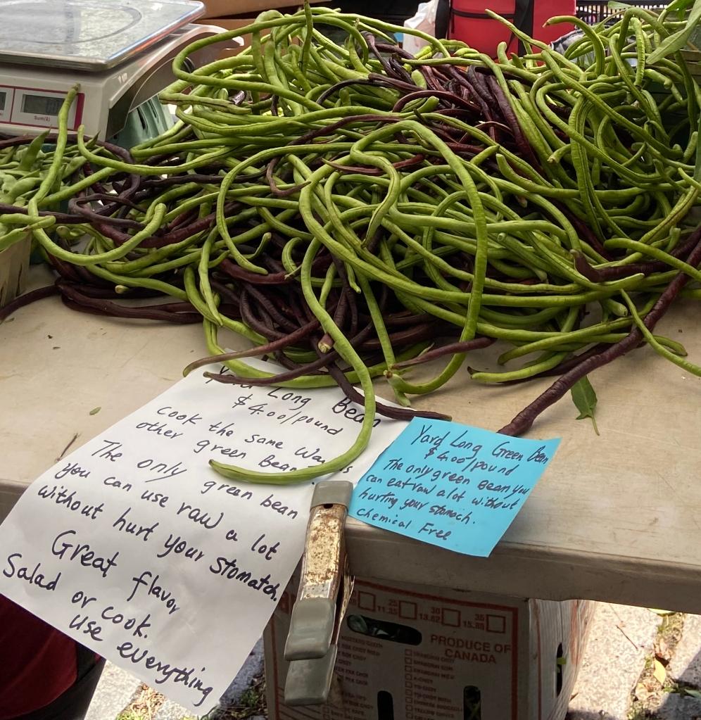 Bora at Farmers Market