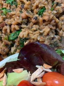 Cook-Up-Rice with Black Eyed Peas
