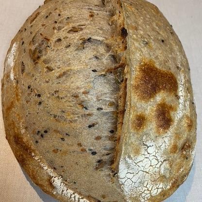 Nutty Sourdough Bread